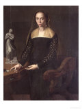 Portrait of a Gentlewoman Giclee Print by Agnolo Bronzino
