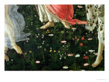 Primavera: Detail of Flowers Giclee Print by Sandro Botticelli