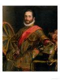 Portrait of Francesco II Della Rovere Giclee Print by Federico Barocci