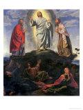 The Transfiguration Giclée-tryk af Giovanni Girolamo Savoldo