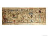 Detail from the Papyrus of Nespakashuty, New Kingdom Giclee Print by 21st Dynasty Egyptian
