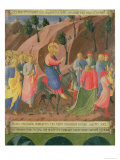 Entry of Christ into Jerusalem, Detail from Panel Three Giclee Print by  Fra Angelico