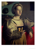 Portrait of a Lady Giclee Print by Francesco Ubertini Verdi Bachiacca