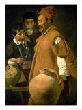 The Water Seller of Seville Gicl&#233;e-Druck von Diego Vel&#225;zquez