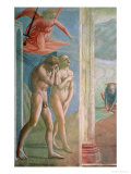 Adam and Eve Banished from Paradise, circa 1427 Premium Giclee Print by Tommaso Masaccio