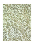 &quot;Willow Bough&quot; Wallpaper Design, 1887 Giclee Print by William Morris