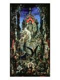 Jupiter and Semele Giclee Print by Gustave Moreau