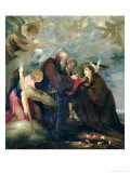 The Communion of St. Rose of Viterbo Giclee Print by Juan Antonio Escalante