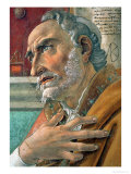 Detail from St. Augustine in His Study Giclee Print by Sandro Botticelli
