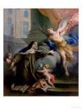 Vision of St. Theresa Giclee Print by Jacopo Amigoni