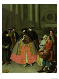 The Apple Seller Giclee Print by Alessandro Longhi