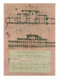 Great Exhibition, 1851: First Sketch for the Building, 1850 Giclee Print by Sir Joseph Paxton