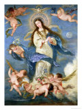 The Immaculate Conception Giclee Print by Jose Antolinez
