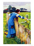 Spring Premium Giclee Print by John William Waterhouse