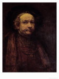 Self Portrait as an Old Man, 1660 Giclee Print by  Rembrandt van Rijn