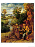 St. Jerome Giclee Print by Giovanni Battista Cima Da Conegliano