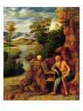 St. Jerome Giclee Print by Giovanni Battista Cima Da Conegliano
