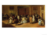 Masked Meeting Giclee Print by Francesco Guardi