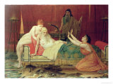 David's Promise to Bathsheba Giclee Print by Frederick Goodall