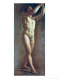 Life Study of the Male Figure Giclee Print by William Edward Frost