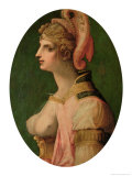 Portrait of a Woman, Probably Zenobia, Queen of Palmyra Giclee Print by Michele Tosini