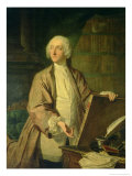 Victor Riquetti, Marquis of Mirabeau, French Economist, 1743 Giclee Print by Jacques Andre Joseph Aved