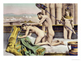 "Ancient Times Plate VII from ""De Figuris Veneris"" by F.K Forberg Giclee Print by Edouard-henri Avril"