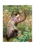 Autumn, 1865 Gicleetryck av Frederick Walker