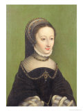 Portrait of a Lady, Said to be Jeanne D'Albret, Mother of Henri IV of France Giclee Print by Claude Corneille de Lyon