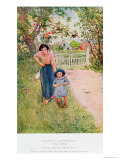 Say a Nice How Do You Do to Your Uncle, 1917 Giclee Print by Carl Larsson