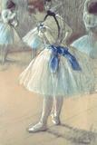 Danserinde Giclée-tryk af Edgar Degas