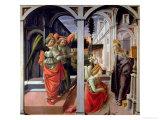 Annunciation, circa 1445 Giclee Print by Fra Filippo Lippi
