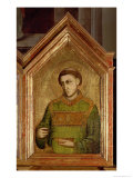 Monk from the St. Reparata Polyptych (Detail) Giclee Print by  Giotto di Bondone