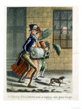 A Merry Christmas and Happy New Year to Ye, Victorian Christmas Card Giclee Print by W. Summers