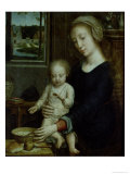 The Virgin of the Soup Giclee Print by Gerard David
