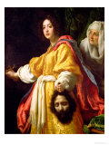 Judith with the Head of Holofernes, circa 1615 Premium Giclee Print by Cristofano Allori