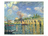 The Bridge, 1871 Giclee Print by Alfred Sisley
