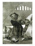 "Hobgoblins, Plate 49 of ""Los Caprichos,"" 1799 Giclee Print by Francisco de Goya"