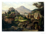 An Extensive View of Salzburg with the Hohensalzburg Fortress Giclee Print