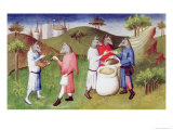 Wolf-Headed People of the Andaman Islands in the Indian Ocean Giclee Print by  Boucicaut Master