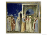The Marriage of the Virgin, circa 1305 Giclee Print by  Giotto di Bondone