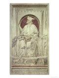 Injustice, circa 1305 Giclee Print by  Giotto di Bondone