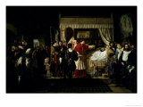 Honours Paid to Raphael after His Death, 1806 Giclee Print by Pierre-nolasque Bergeret