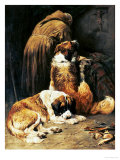 The Faith of St. Bernard Giclee Print by John Emms