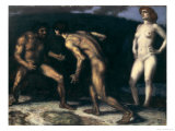 Battle for a Woman, 1905 Giclee Print by Franz von Stuck