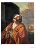 St. Peter Giclee Print by  Guercino (Giovanni Francesco Barbieri)