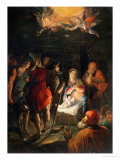 Adoration of the Shepherds Giclee Print by Johann Von Achen