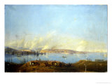 View of the Harbour of Sebastopol During the Crimean War Giclee Print by Ivan Konstantinovich Aivazovsky
