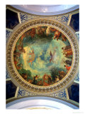 Aurora, Ceiling Painting Possibly from the Library, circa 1845-47 Reproduction giclée Premium par Eugene Delacroix