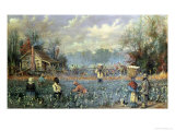 Share Croppers in the Deep South Giclee Print by William Aiken Walker